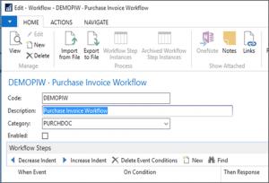 Understanding Workflows In Microsoft Dynamics Nav 2016
