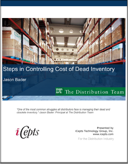 Steps in Controlling Cost of Dead Inventory – iCepts
