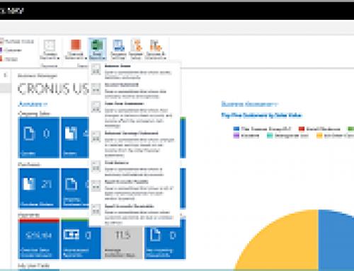 Preconfigured Excel Financial Reports in Dynamics NAV 2018